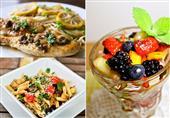 بيكاتا فراخ بالمشروم ومكرونة بالخضروات مع الفروت سلاط مع الشيف علاء