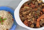طاجن اللحم بالخضراوات - مطبخ منال العالم