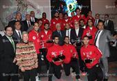 تكريم المنتخب المصري لكرة اليد
