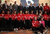 بالصور- تكريم لاعبي منتخب مصر لليد في حضور وزير الرياضة