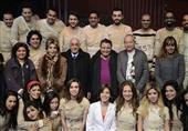 بالصور.. ساويرس وعبد الخالق ومغربي يحضرون مسرحية