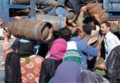 أهالي قرية بالمنوفية يحاولون الاستيلاء على سيارة محملة بأسطوانات الغاز