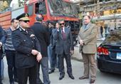 بالصور.. مدير أمن القاهرة يتفقد شوارع وسط القاهرة