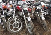 ضبط 25 دراجة نارية وسيارة بدون لوحات وتراخيص في الوادي الجديد