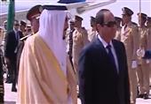 مراسم إستقبال الرئيس السيسى بالرياض في حضور الملك سلمان بن عبد العزيز