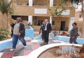 نائب وزير التعليم يتفقد مدارس الخارجة ويتابع القوافل التعليمية بالوادي الجديد
