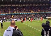 """مشجع بلجيكي يؤجل """"موته"""" لحضور إحدى المباريات"""