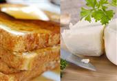 إفطار مصراوى اليوم..  التوست الفرنسي مع الجبنة البيضاء