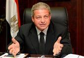 وزير الرياضة يفتتح صالة الخماسي الحديث قبل انطلاق كأس العالم بالقاهرة