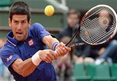 """مهارة خارقة فى التحكم بالمضرب للاعب التنس """"نوفاك دجوكوفيتش"""""""