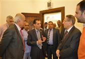 رئيس جامعة الأزهر يتفقد مركز القلب واللجنة الطبية التابع للجامعة