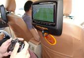 أجهزة أكس بوكس في سيارات الأجرة - صورة