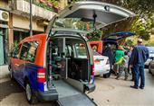 بالصور - سيارات مجهزه لسهولة انتقال ذوي الاحتياجات الخاصة في مصر