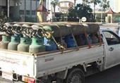 ضبط ''خفير نظامي'' يتاجر في أسطوانات الغاز والوقود في السوق السوداء