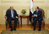 """تفاصيل أول لقاء بين السيسي والرئيس اليمني بعد """"عاصفة الحزم""""- فيديو"""