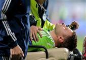 روسيا تشكو مونتنيجرو لليويفا بعد إصابة الحارس بالألعاب النارية (فيديو)
