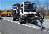 وسيلة حديثة لإصلاح حُفر الطرق السريعة - صور وفيديو