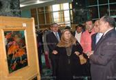 أكثر من 50 عملاً فنياً في المعرض الدائم للفنون التشكيلية بجامعة طنطا