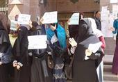 وقفة لطالبات الإخوان بأزهر الإسكندرية للتنديد بفصل زميلاتهن