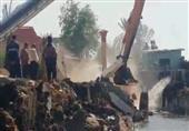 بالصور.. إزالة ١٠٥ حالات تعدي على النيل والأراضي الزراعية بكفر الشيخ
