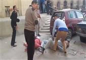 أول فيديو للحظات الأولي لانفجار قنبلة دار القضاء العالى