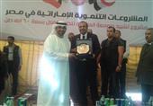 وزير التموين يدشن صومعة العامرية ضمن 25 صومعة تقيمها الإمارات بمصر