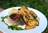 طبق اليوم: سمك مشوي مع البطاطس من مطبخ منال العالم