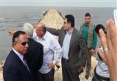 بالصور- وزيرا الري والزراعة يتفقدان بحيرة المنزلة ببورسعيد