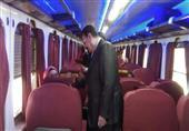 في جولة مفاجئة.. وزير النقل يتفقد القطارات المكيفة والمميزة فقط -(صور)