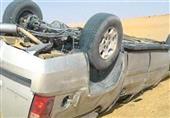 بالأسماء-إصابة 11 في حادث انقلاب سيارة علي طريق بورسعيد الاسماعيلية