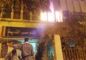 حريق داخل قسم مصر القديمة بسبب مشاجرة بين مساجين