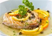 فيليه السمك بالليمون بالفرن من مطبخ منال العالم