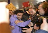 وصول محمد صلاح مطار فلورنسا