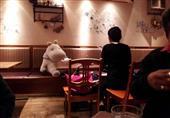 """بالصور .. مطعم بطوكيو يتغلب علي وحدة الزبائن """" بالعرائس"""""""