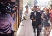 الصور الأولى لحفل زفاف ملكة جمال مصر مريام جورج