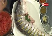 طاجن السمك المقلي بالفرن - الشيف يسري خميس