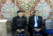 بالفيديو..نجوم الفن في عزاء إبراهيم يسري بمسجد الحامدية الشاذلية