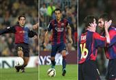 بالأرقام.. حكاية 500 مباراة لتشافي مع برشلونة