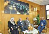 رئيس جامعة كفر الشيخ يبحث اعتماد كلية الطب البيطري