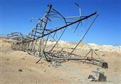مجهولون يفجرون برجين ضغط عالي بالنوبارية وشلل مروري على الطريق الصحراوي