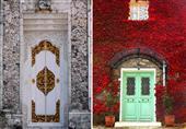 أجمل المداخل لكنائس وبيوت حول العالم..بالصور