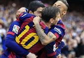 أهداف الشوط الأول (برشلونة  5 - خيتافي 0) الدوري الإسباني