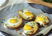 إفطار مصراوى ... بطاطس بالبيض والجبنة