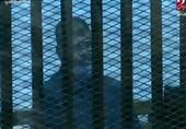 أول ظهور للرئيس الأسبق محمد مرسي بالبدلة الزرقاء بعد الحكم عليه بالسجن