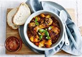 صينية الدجاج بالتمر الهندي والخضروات من مطبخ منال العالم