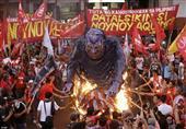 العمال يحرقون الأرض يوم عيدهم ـ (صور حول العالم)