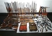 الامن العام يضبط 101 قطعة سلاح ناري و٩ تشكيلات عصابية