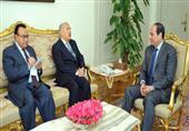 مبعوث الرئيس اليمني في لقاءه بالسيسي: نشكركم على المشاركة في عاصفة الحزم