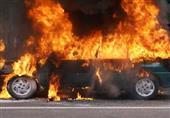 مقتل شخص داخل سيارة تفحمت جراء انفجار أبو حماد