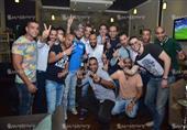 إبراهيم سعيد وجمال حمزة يحتفلان بعيد ميلاد لاعب الأهلي السابق